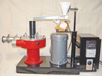 Lab-sized pulverizing system