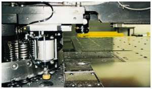 Laser Punch Press in Action