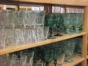 Glassware that Libbey manufactures