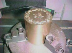 Detailed engraving applications on selected molds