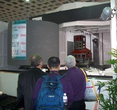 two-pallet Litz LH 1000B horizontal boring machine