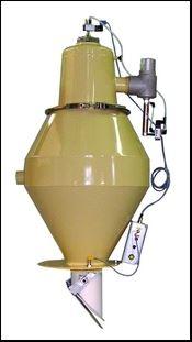 Low-profile Model 2420 PVC compound vacuum receiver
