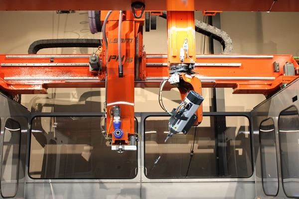 LSAM or large scale additive manufacturing systems