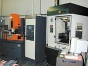 machining center and ram EDM machine
