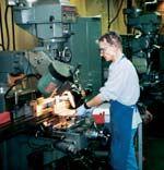 machinist Ingrid Redding