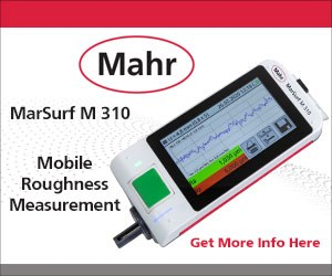 Mahr's mobile roughness measurement