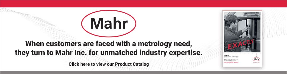 Mahr's metrology product catalog