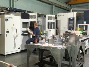 small and large die mold operations
