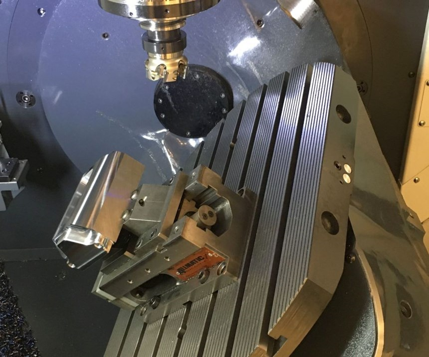DMU 50 universal five-axis machining center