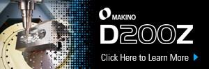 Makino D200Z 5-axis VMC