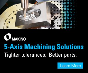 Makino 5-axis machining