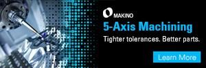 Makino 5-axis machining