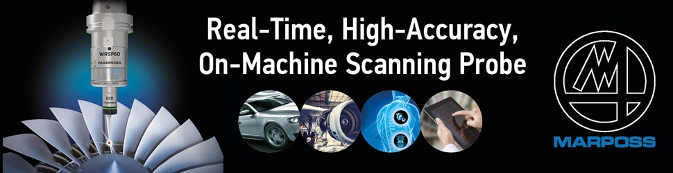 WRSP60: the New Scanning Probe for Machine Tool