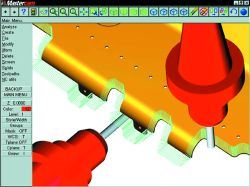 Mastercam software for 5-axis CNC machining