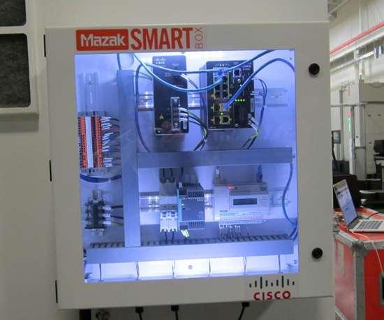 The Mazak SmartBox with cloud connectivity