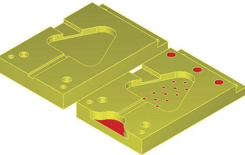 A 2-D solid model