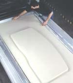 Membrane-forming press