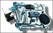 metal door carrier module