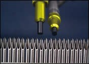 micro-abrasive blasting process