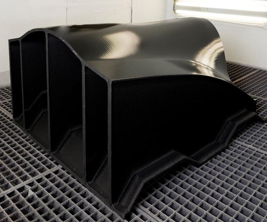 digitally manufactured mold