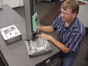 Jeff Schwartz, toolroom supervisor at Diamond Tool & Engineering