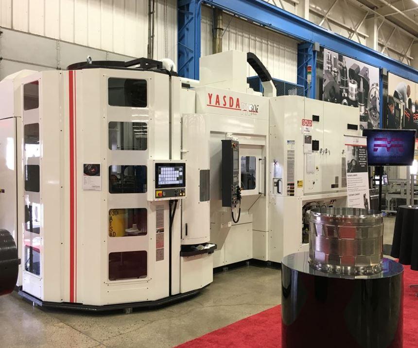 Yasda PXi30 machining center