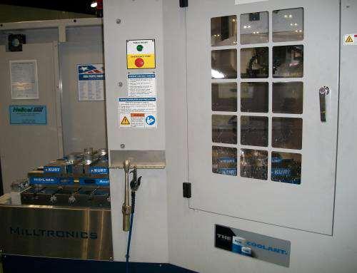 Milltronics twin-table machine