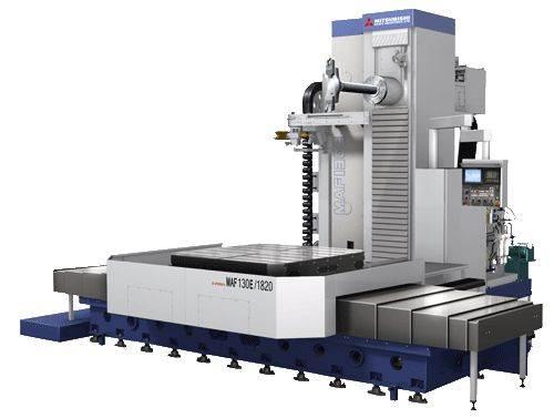 Mitsubishi Heavy Industries MAF-E table-type horizontal boring mill