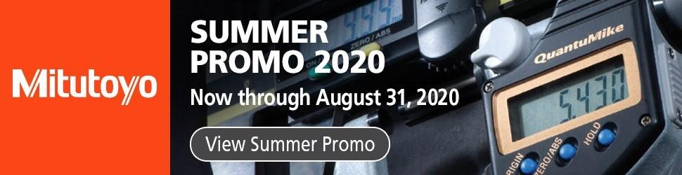 Mitutoyo Summer Promo