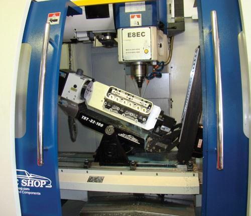 Centroid A532, a simultaneous, five-axis CNC machining cente