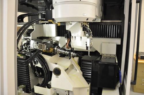 Vollmer rotary disc erosion machine