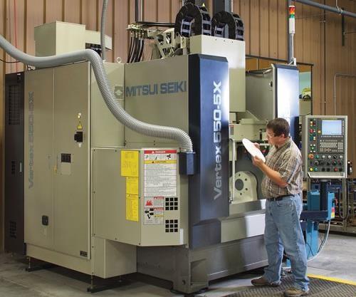 Mitsui Seiki Vertex 550-5X machining center