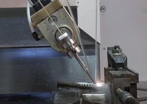Closeup of Beaumont Machine FH series fast-hole EDM unit