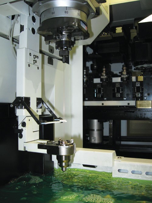 Fine-hole EDM machine