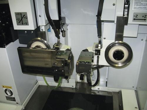 horizontal wire EDM machine