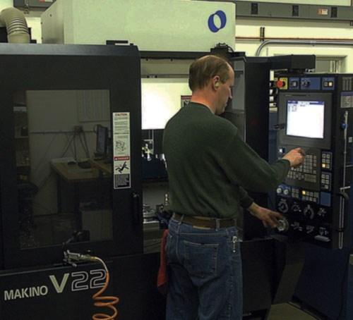 precision machining center