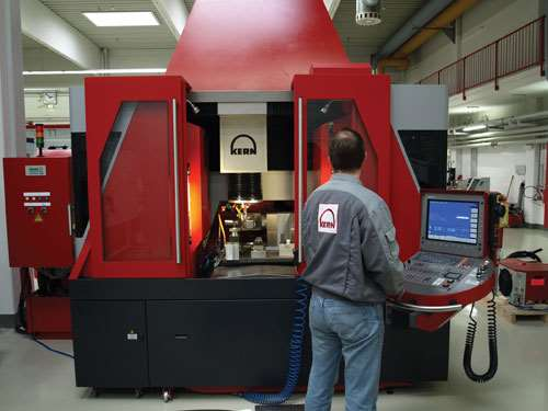 machining center for micro-scale or full-scale work