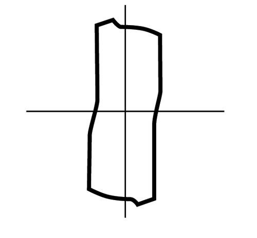 Flat flute form
