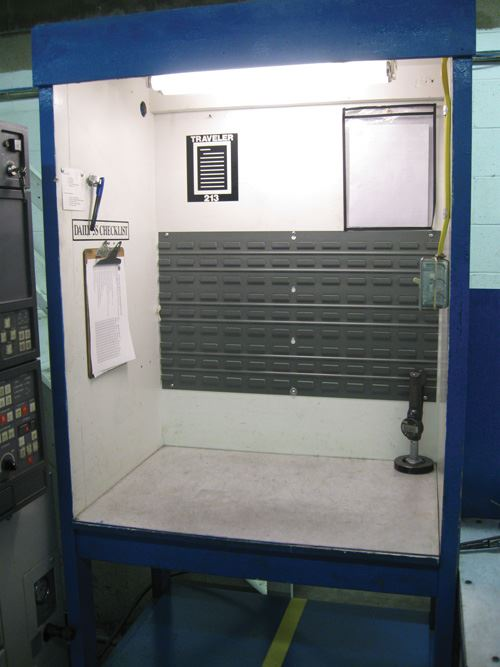 inspection bench
