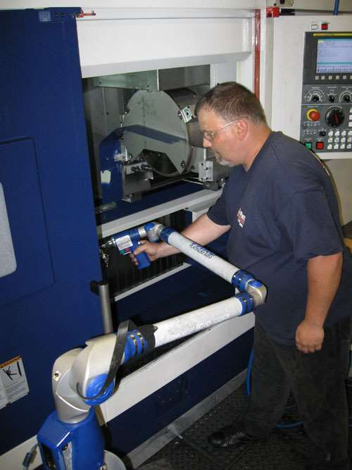 Inspection using Faro arm