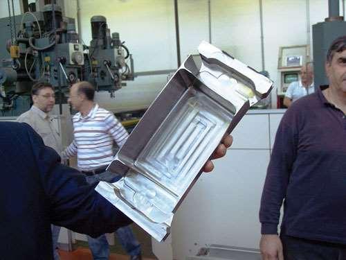 titanium deep pocket workpiece
