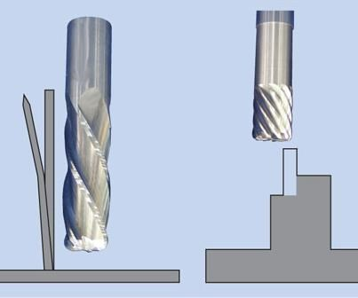 approaches to wall machining