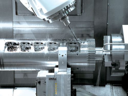 five-axis capability