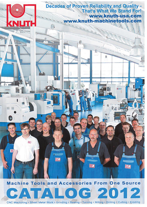 Knuth 2012 machine tool and accessories catalog