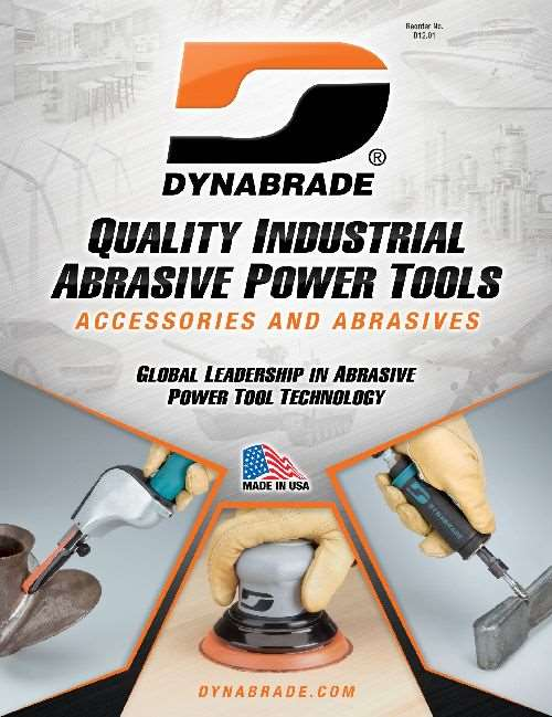 Dynabrade Quality Industrial Power Tools catalog