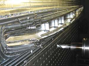 high speed milling work zone