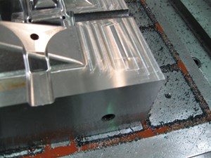 20,000-rpm machining center
