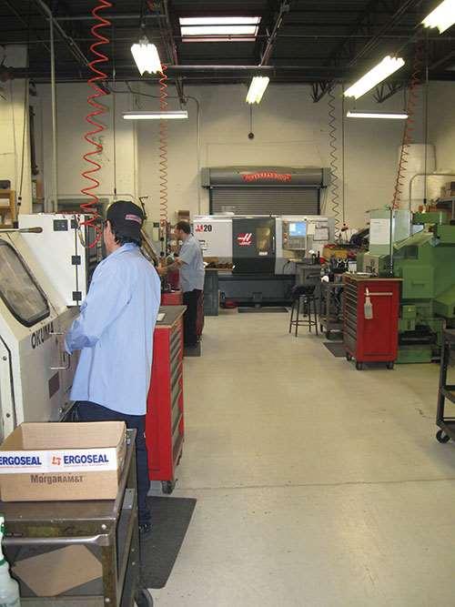 machine shop floor