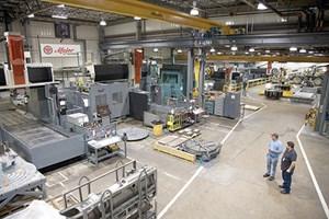 Major Tool & Machine shop floor