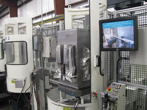 six-machine pallet system